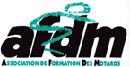 logo de l'Association de Formation des Motards