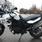 moto bmw gs700